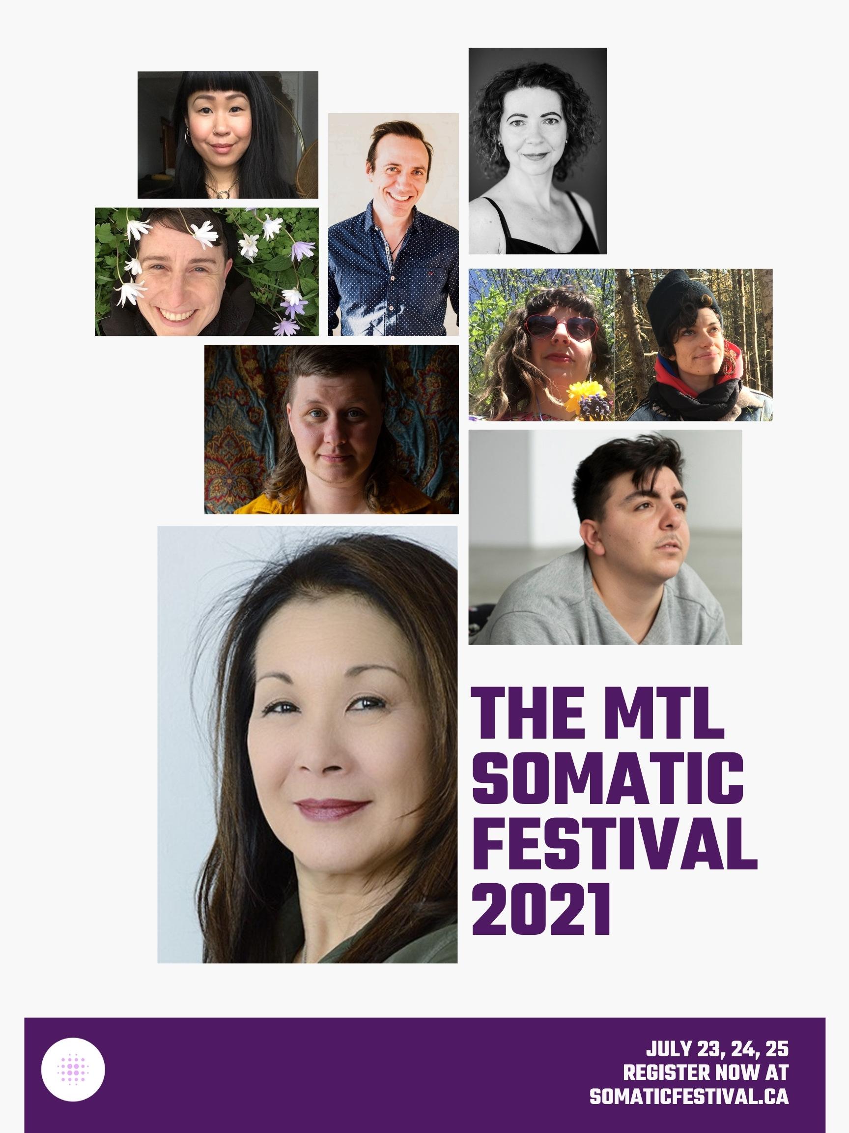 Montreal Somatic Festival Festival Somatique Montreall
